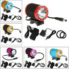 CREE XML T6 LED Bicycle Light Bike Front Lamp 1200LM 4 Modes 6Colors Waterproof