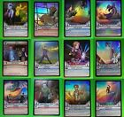 "SELECTION OF ""HUNTIK"" SUPER-RARE HOLO FOIL CARDS - YOU CHOOSE (HJ2)"