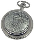 MENS QUARTZ HUNTER RUGBY POCKET WATCH A E Williams Superb Players Fans Gift NEW