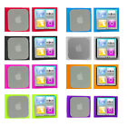 For Apple iPod Nano 6th Gen 6 6G Color Silicone Rubber Gel Soft Skin Case Cover