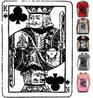 King Card Poker Game Men's Women's Hobo T-Shirts Singlets long sleeve Hoodie