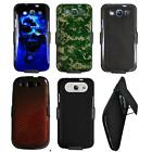 Phone Case For Samsung Galaxy S3 I535 4G LTE Holster Hard Cover