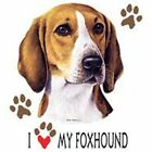 Foxhound Terrier Love T Shirt Pick Your Size