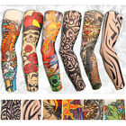 6 Designs Nylon Stretchy Fake Tattoo Sleeves Arms  Fancy Dress Costume