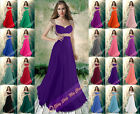 Mermaid Evening Prom Gowns Bridesmaid Party Dresses Formal Cocktail Size 6-26