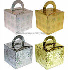 20 Sparkly Favour Box / Helium Balloon Weight Boxes Wedding / Birthday Party