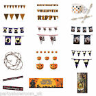 Halloween Horror Party Banner Poster Garland Tinsel Streamer One Listing PS