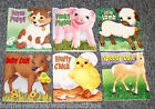 Lot 6 Barnyard Babies 5 MINUTE STORY Books NEW Stories BOOK Baby Farm Animals