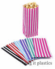 PICK N AND MIX CANDY STRIPE PAPER SWEET POPCORN BAGS PARTY WEDDING BIRTHDAY BAG