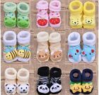 Infant Toddler Indoor Soft Anti-slip Warm Socks Cute  Animal Cartoon Shoes Boots