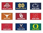 "Choose Your NCAA College N-Z Team 20"" x 30"" Man Cave Starter Area Rug Floor Mat"