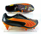 Puma V1.10 Tricks SG adults Football Boots - Black/Orange