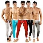 Sexy Men's Low Rise Underpants Long johns Thermal Pants Modal Underwear Trousers