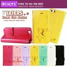 Leiers Domi Cat Magnetic Flip Leather Case Cover Wallet For Apple iPhone 5s 5 5g
