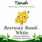 BEESWAX BEADS ~ WHITE ~ Natural Cosmetic Wax ~ 100% Pure ~ Bleached  Refined ~