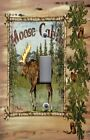 Light Switch Plate Switchplate & Outlet Covers WILDLIFE MOOSE CABIN LODGE