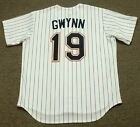 TONY GWYNN San Diego Padres 1997 Majestic Cooperstown Home Baseball Jersey