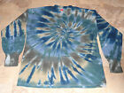 Hippie Kids Tie Dye Dyed Long Sleeve Tshirt XS Small Medium Large XL