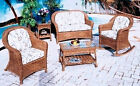 All Weather Outdoor Wicker - Plymouth Porch 4 piece Set - # GLR409
