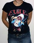 "Evile ""Killer From The Deep"" Girlie T-shirt - NEW OFFICIAL"