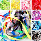 Top Quality Basg of mixed ribbon off cuts, 10 x 1metres, assorted colours/sizes
