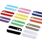 Multi Colors Top and Bottom Glass Back Cover Repair For Apple iPhone 5S New