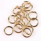 Wholesale Round Iron Open Jump Plated KC Gold Rings Finding 6 Kinds For Choose