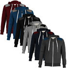 NEW MENS HOODIES CONSPIRACY C606708C DESIGNER ZIP HOODED JACKET TOP SIZE S-XXL