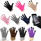 Mens+Womens Touch Screen Gloves For iPhone 6/6 Plus 5S/5C/4S Samsung S3/S4/S5