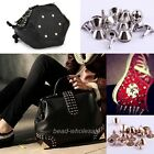 Cool  Free Ship 100sets Rock Punk Stylish Bucket Shaped Spike Stud Rivet