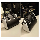 Elegant Stylish OL Women's Faux Leather Clutch Smile Face Bag Tote Handbag
