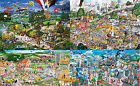 1000 Piece I Love Jigsaw Puzzles - Humourous Scenes by Mike Jupp - Gibsons
