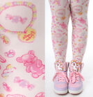 Harajuku Decora Kawaii Sweet Cosplay Lolita Lollipop Jelly Bean Candy Tights Cos