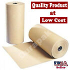 """36"""" 40 lbs 900 Ft Brown Kraft Paper Roll Shipping Wrapping Cushioning Void Fill"""