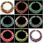 A2859 Gemstone Variscite & Pyrite loose beads 15pcs more material to select