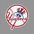 New York Yankees MLB Team Logo Vinyl Decal Sticker Car Window Wall Cornhole