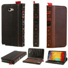 RETRO BOOK DESIGN CASE LEATHER FLIP WALLET COVER FOR SAMSUNG GALAXY NOTE 2 N7100