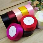 25mm 25 Yards Satin Ribbon Wedding Party Annual Meeting Craft Sewing Decorations