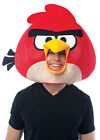 ANGRY BIRDS RED ADULT MASK One Size Halloween Fancy Dress Up Costume Accessory