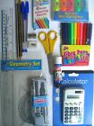 Fournitures Rentrée Scolaire - Crayons/Taille Crayon/Gommes/Règles/Stylo