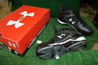 NEW IN BOX AND TAGS UnderArmour baseball cleats - IGNITE  MID  BLACK