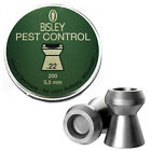 BISLEY PEST CONTROL .177 .20 .22 .25 DOMED AIR RIFLE PISTOL GUN SHOOTING PELLETS