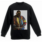 Actual Fact Biggie Supreme Colour Money Notorious Big Black Sweatshirt Top
