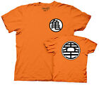 Dragon Ball Z Goku Symbol Anime Cartoon TV Cotton Adult T Shirt