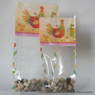 Easter Cellophane Bags *Easter Hen & Chicks* * Choose Size & Quantity*