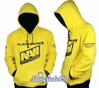 Dashing Natus Vincere NAVI Cosplay Top Grade Yellow Hoodie Coat Sweater Outwear