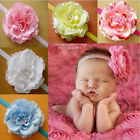 Baby Girl Kids Big Peony Flower Toddler Hair Band Headband Headwear Accessories
