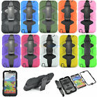 Heavy Duty Rugged Shockproof Hybrid Hard Tough Case Cover for Samsung +Belt Clip