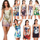 2014 New Women's GYM Yoga Vest Tops Sleeveless Mini Dress Galaxy Pants Clothing