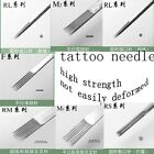 50PCS Tattoo Machine Needles Sterile Disposable Six Kind Choice RL RS RM F M2 M1